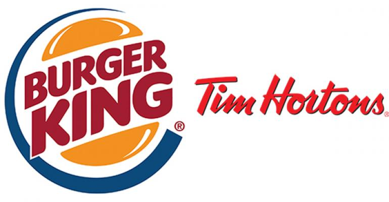 Restaurant Finance Watch: Burger King–Tim Hortons deal is about growth