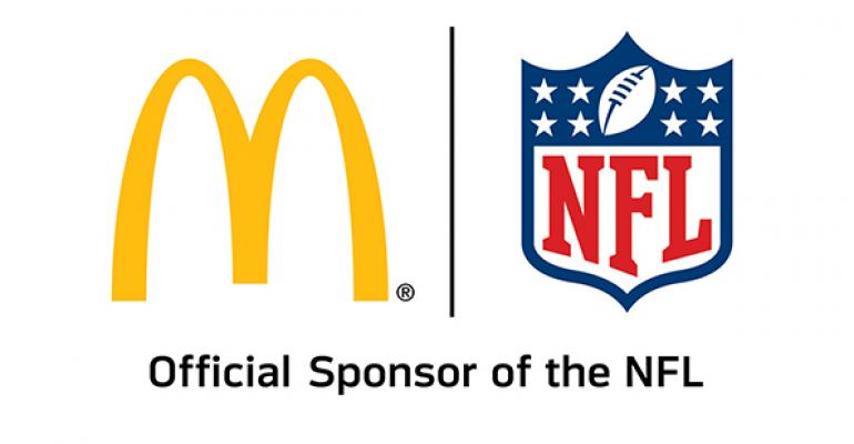 McDonald's taps web strategy to bolster NFL alliance
