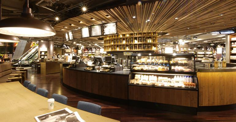 A Starbucks unit in Tokyo39s Roppongi district