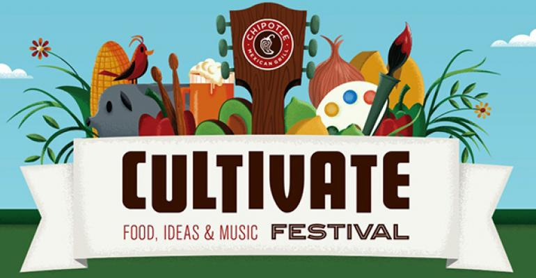 Chipotle cultivates brand message with festivals