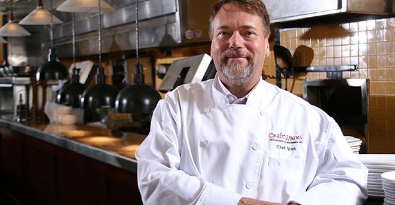 CraftWorks chief officer of food beverage and strategic supply Stan Frankenthaler