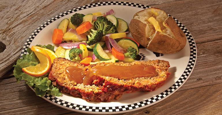 Black Bear Diner39s meatloaf dinner
