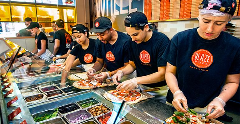 Blaze Pizza assembly format