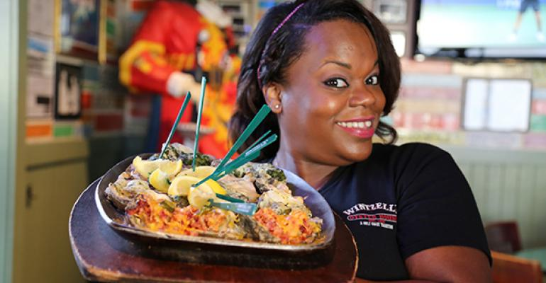 Monique quotMiss Pinkyquot Scott has been on the restaurant39s wait staff for 11 years