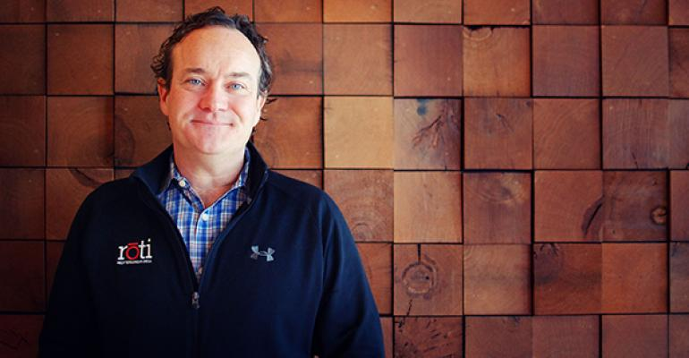 Peter Nolan chief brand officer Roti Mediterranean Grill