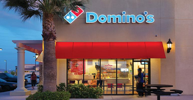 Domino's franchisees building new units