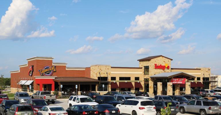 Luby39sndashFuddruckers dualbrand location in Rockwall Texas