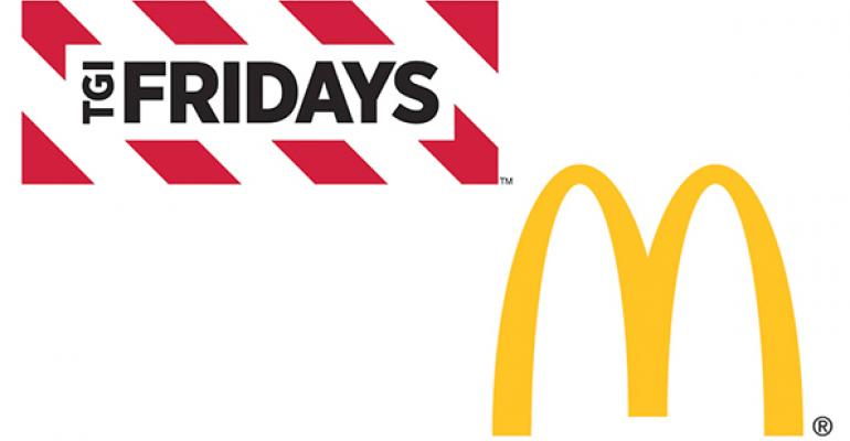 McDonald's, TGI Fridays ads most effective in 1Q