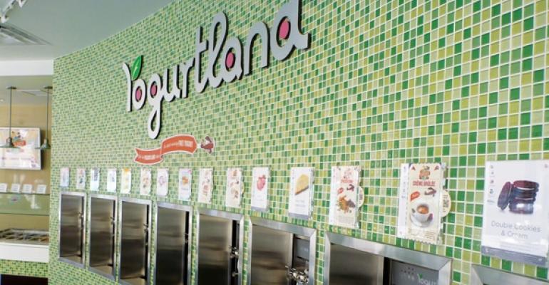 Yogurtland looks to differentiate with menu extensions
