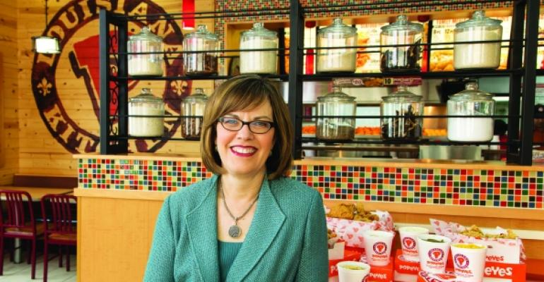 Popeyes CEO Cheryl Bachelder talks leadership strategies