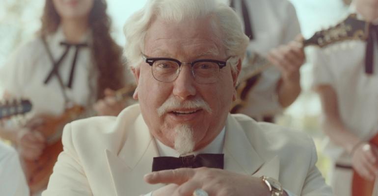 Comedian Darrell Hammond plays KFC39s Colonel Sanders in a rebranding campaign