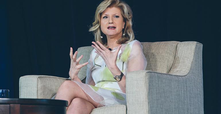 Arianna Huffington president chairman and editorinchief of Huffington Post Media Group