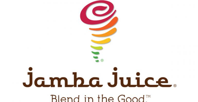 Jamba reports 1Q loss, while same-store sales rise