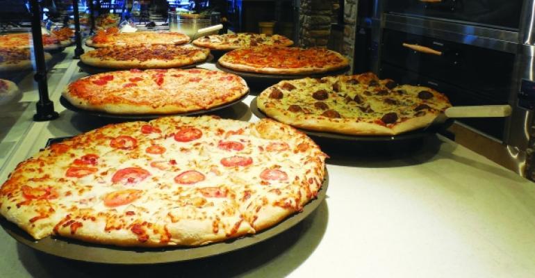 Pizza Hut pizzas