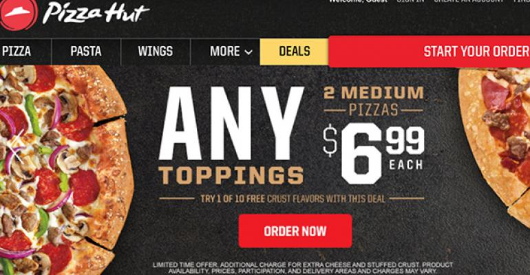 Pizza Hut works to readjust brand overhaul