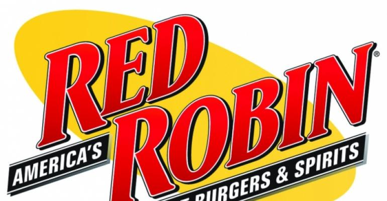 Red Robin 1Q net income rises on brand enhancements