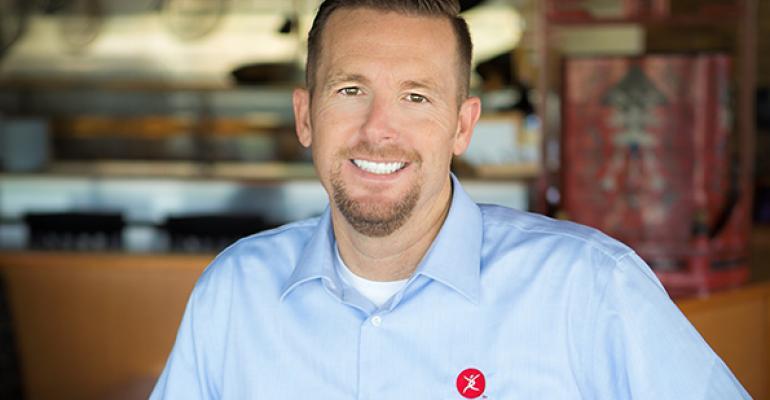Clay Dover CMO of Pei Wei Fresh Kitchen