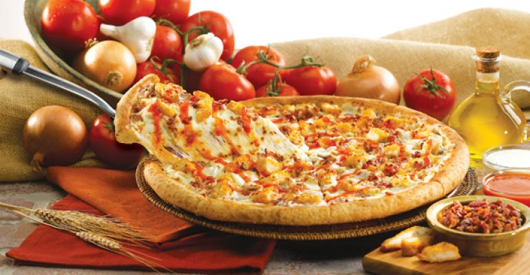 Papa John39s Buffalo Chicken Pizza