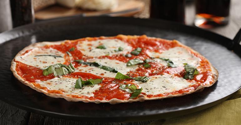 Posh Tomatorsquos Southern Margherita pizza