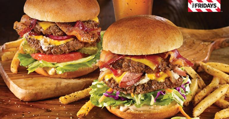 TGI Fridays launches burger freebie via social media