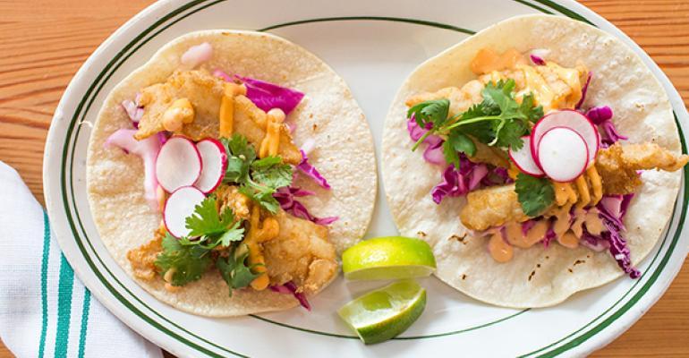 Baja Grilled Fish Tacos