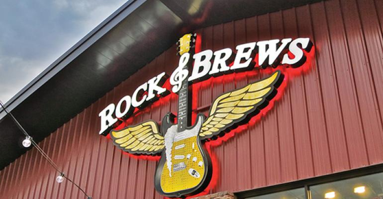 Rock & Brews blends classic rock with cuisine