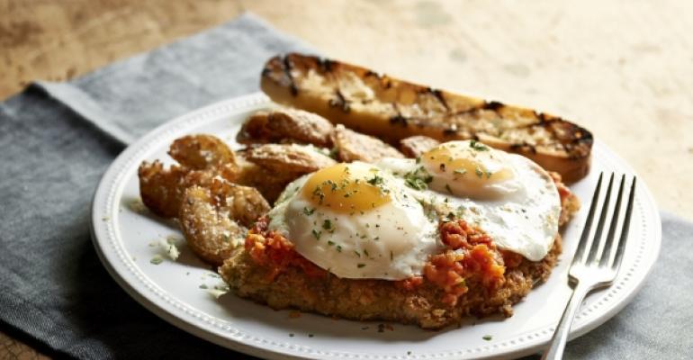 Romano39s Macaroni Grill39s new brunch menu includes Milanese Steak amp Eggs