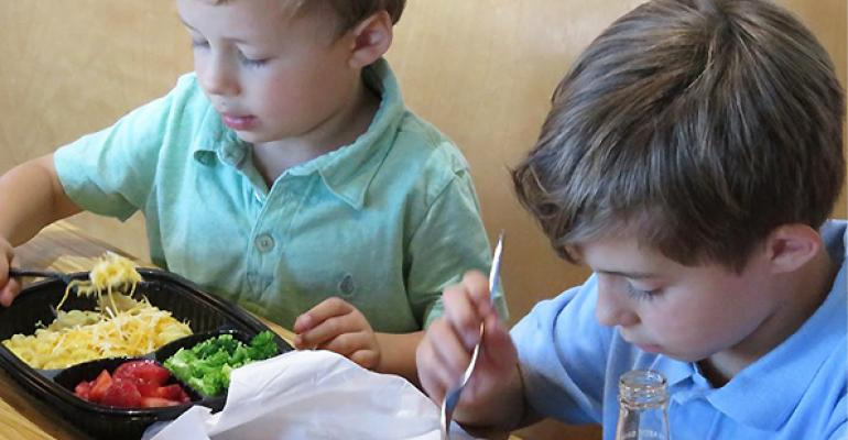 Noodles & Company debuts customizable kids' meals