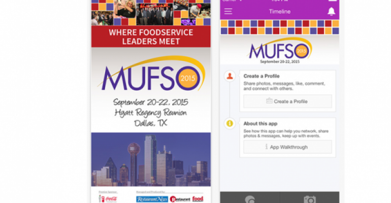 MUFSO app screenshot