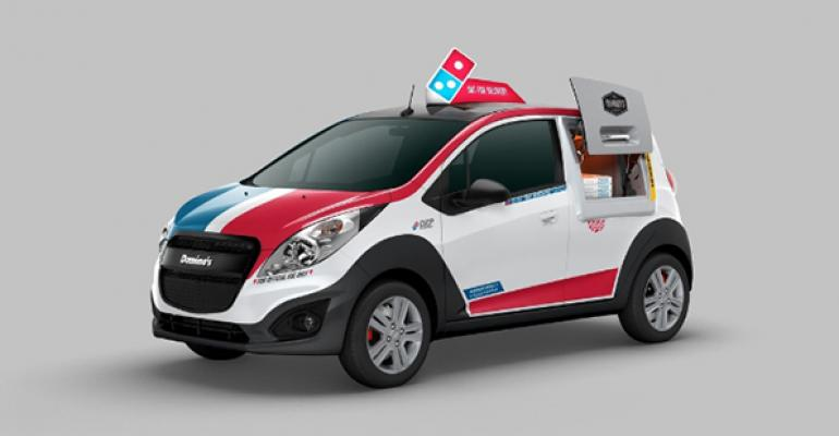 Domino's launches delivery car with oven inside