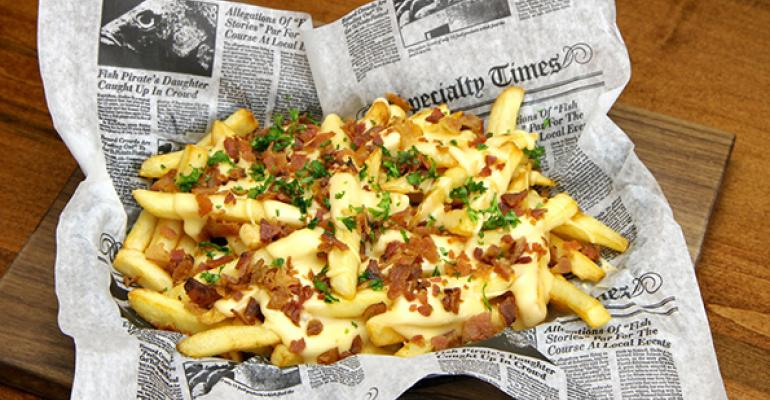 Consumers load up on topped fries