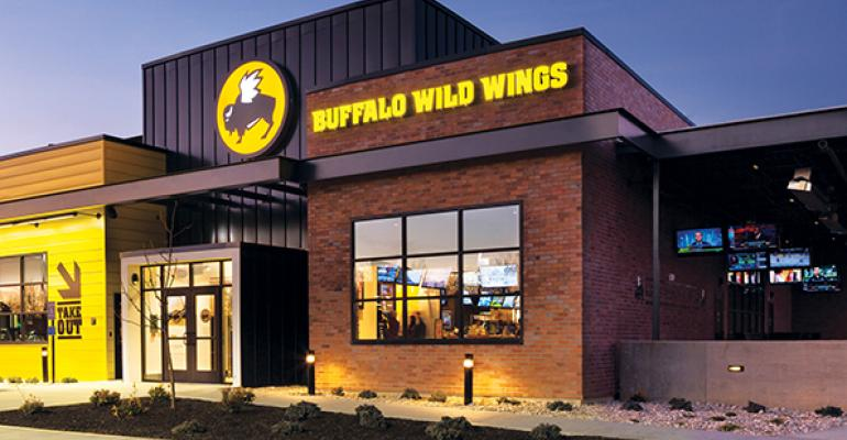 Buffalo Wild Wings restaurant