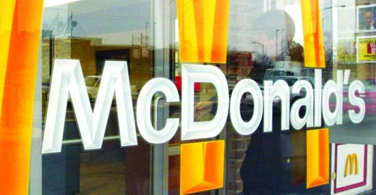 McDonald's same-store sales turn positive in 3Q