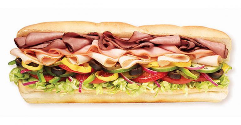 Subway Footlong sandwich