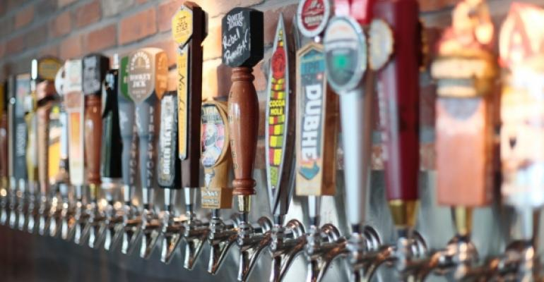 World of Beer taps