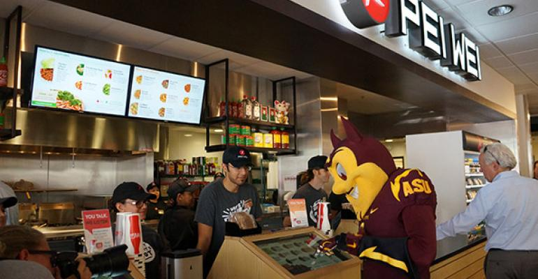 Pei Wei CEO outlines ramped up growth