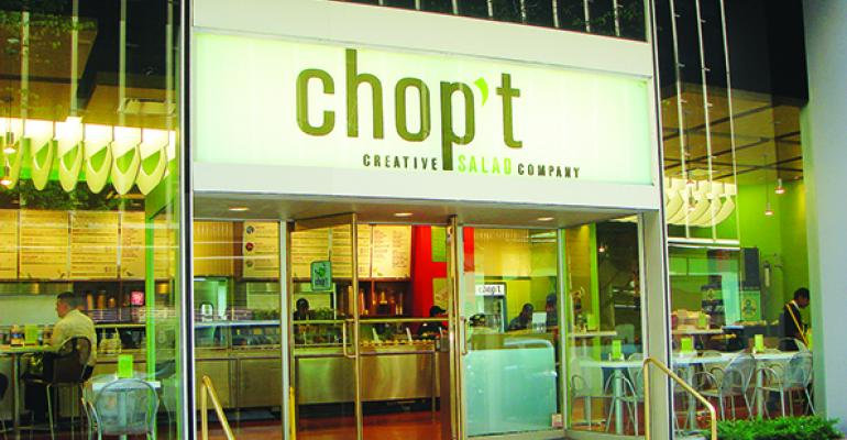 Chopt Creative Salad Company has received a significant investment from organic products company The Hain Celestial Group Inc and private equity firm Catterton