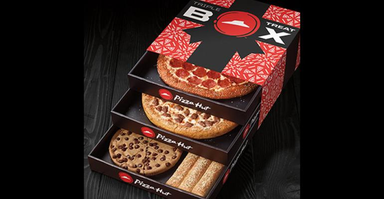 Pizza Hut debuts Triple Treat Box for holidays