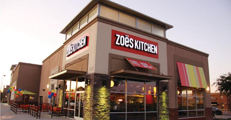 Zoe's Kitchen sees strength in catering, family meal