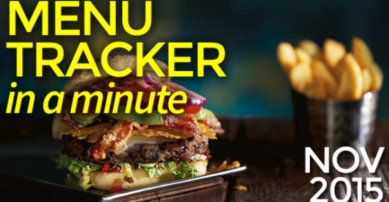 Menu Tracker in a Minute: November 2015