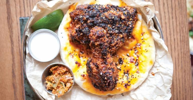 India Hot Chicken at Pub Royale in Chicago