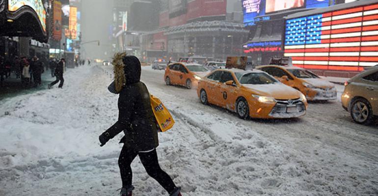 blizzard Jonas Times Square