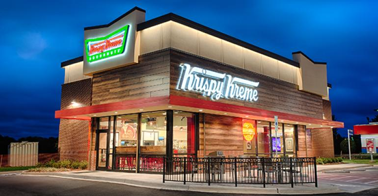 Fast Food Building Designs Delectable New Krispy Kreme Design Targets Coffee Sales  Nation's Restaurant . Review