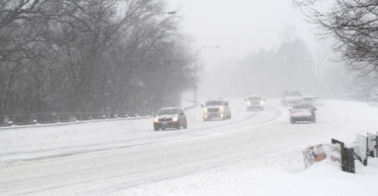 How will Winter Storm Jonas affect restaurants?
