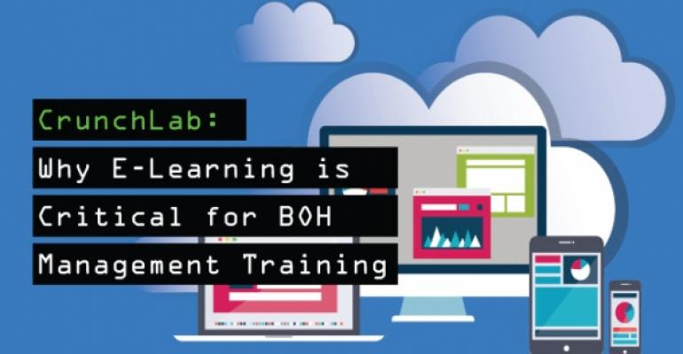Why ELearning is Critical for BOH Management Training