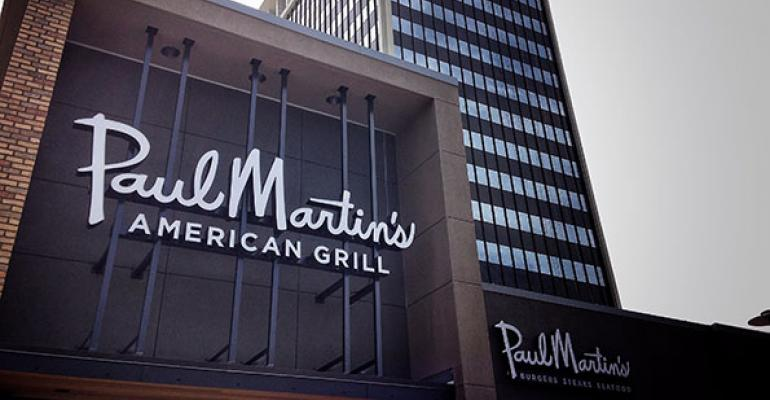 Paul Martin's American Grill names CEO