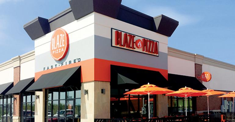 Blaze Pizza restaurant