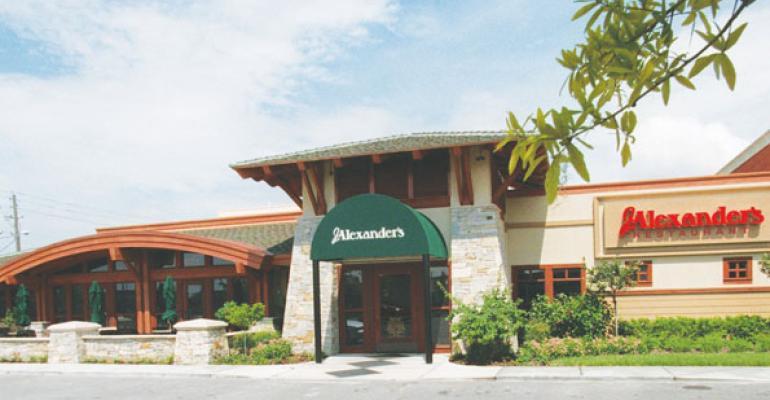 J Alexanders restaurant