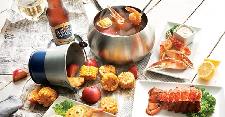 The Melting Pot Summer Seafood Catch