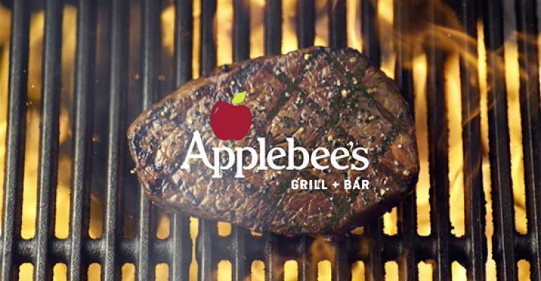Applebees steak